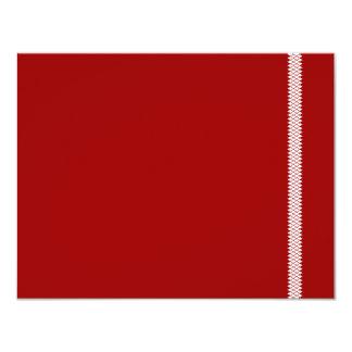 "Herringbone Star Bar Mitzvah RSVP Card 4.25"" X 5.5"" Invitation Card"