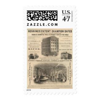 Herring's Patent Champion Safes Postage