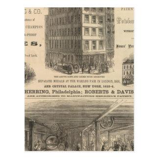 Herring's Patent Champion Safes Postcard