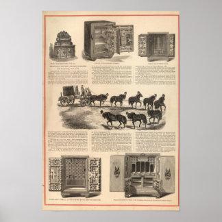 Herring's Patent Champion Safes Poster