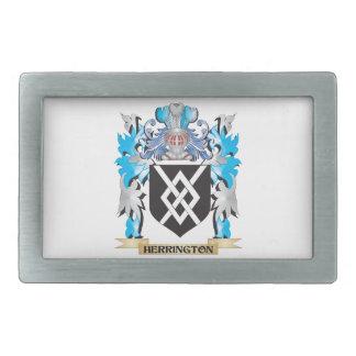 Herrington Coat of Arms - Family Crest Belt Buckles