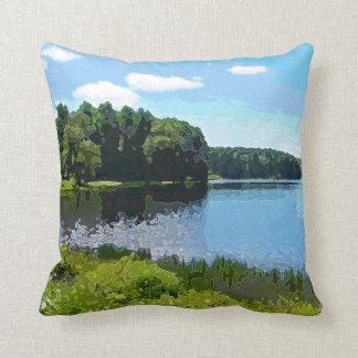 """""""Herrington Lake"""" Throw Pillows"""