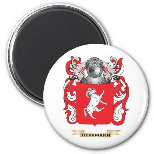 Herrmann Coat of Arms (Family Crest) Magnet