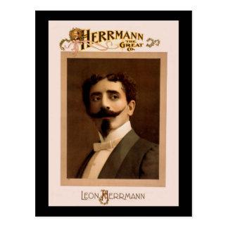 Herrmann el gran Co. Postal