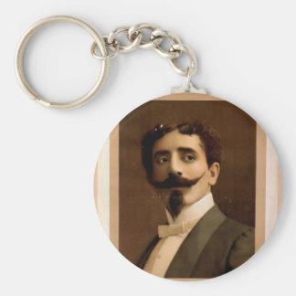 Herrmann,  'Leo Herrmann' Vintage Theater Basic Round Button Keychain