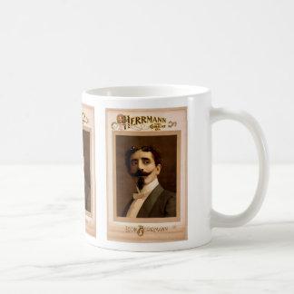 Herrmann,  'Leo Herrmann' Vintage Theater Classic White Coffee Mug