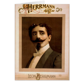 Herrmann,  'Leo Herrmann' Vintage Theater Greeting Card