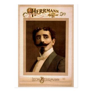 Herrmann,  'Leo Herrmann' Vintage Theater Postcard