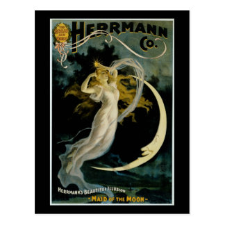 Herrmann ~ Maid of the Moon Postcard
