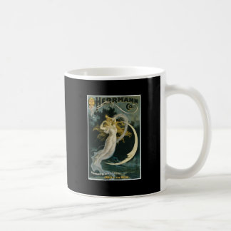 Herrmann ~ Maid of the Moon Vintage Magician Act Coffee Mug