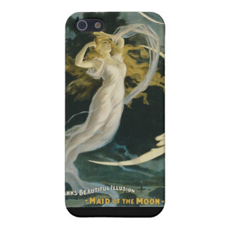 Herrmann ~ Maid of the Moon Vintage Magician Act iPhone SE/5/5s Case