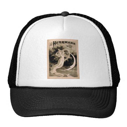 Herrmann, 'Maid of the Moon' Vintage Theater Trucker Hat