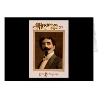 Herrmann the Great Co. Card