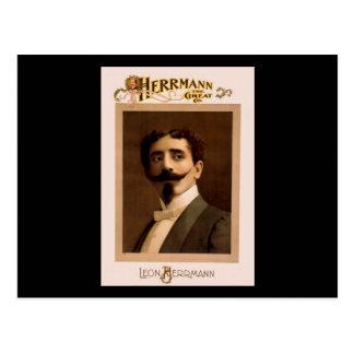 Herrmann the Great Co. Postcard