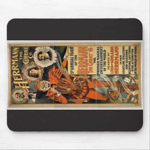 Herrmann the Great Co. Retro Theater Mouse Pad