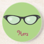 Hers Spectacles Coaster