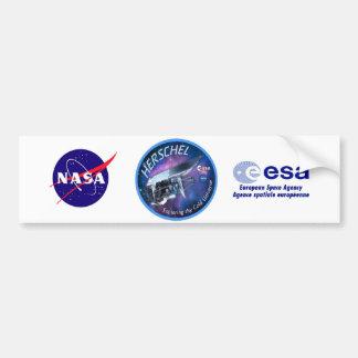 Herschel Space Observatory Bumper Sticker