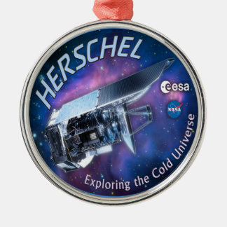 Herschel Space Observatory Christmas Tree Ornament