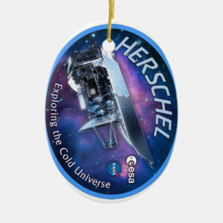Herschel Space Observatory Christmas Ornaments