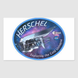 Herschel Space Observatory Rectangle Stickers