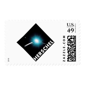 Herschel Space Telescope Mission Patch   Postage