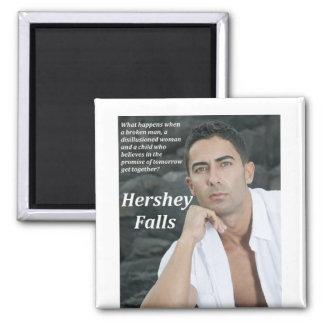 Hershey baja imán cuadrado