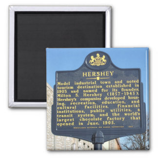 Hershey Pennsylvania Travel Photo Souvenir Magnets