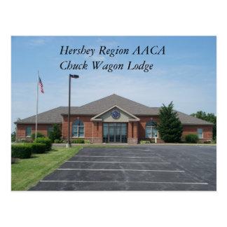 Hershey Region AACA   Chuck Wagon Lodge Postcard