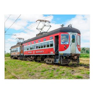 Hershey Train, Cuba Postcard