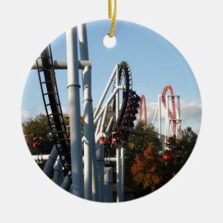 Hersheypark Roller Coasters Ceramic Ornament