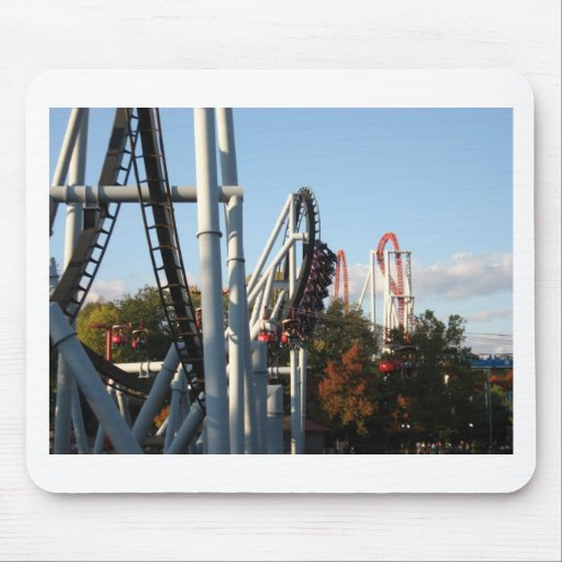 Hersheypark Roller Coasters Mouse Pad