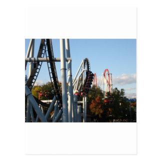 Hersheypark Roller Coasters Postcard