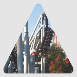 Hersheypark Roller Coasters Triangle Sticker