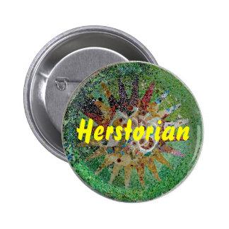 Herstorian 2 Inch Round Button