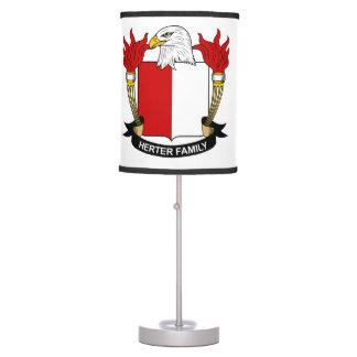 Herter Family Crest Desk Lamp