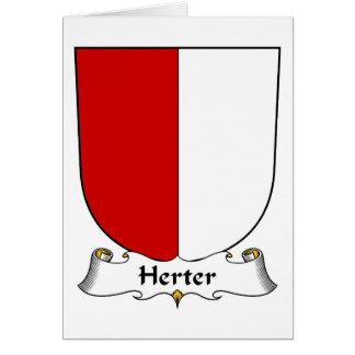 Herter Family Crest Greeting Card