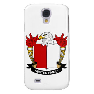 Herter Family Crest Samsung Galaxy S4 Covers