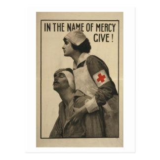 Herter_-_In_the_name_Propaganda poster Postcard