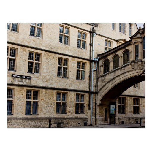 Hertford Bridge (aka Bridge of Sighs), Oxford Postcard