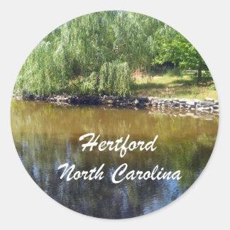 Hertford, North Carolina Stickers