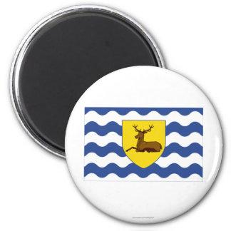 Hertfordshire Flag 2 Inch Round Magnet