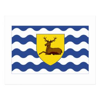 Hertfordshire Flag Postcard