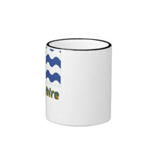 Hertfordshire Flag with Name Ringer Coffee Mug