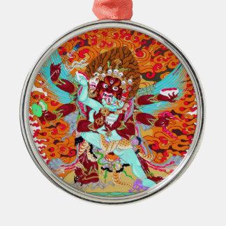 Heruka Buddhist Deity Metal Ornament