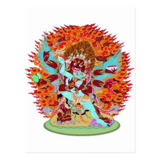 Heruka Buddhist Deity Postcards