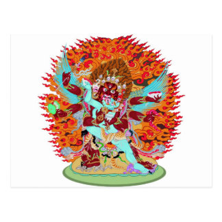 Heruka Buddhist Deity Postcard