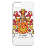 Herve Family Crest iPhone 5 Cases