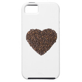 Herz aus Kaffeebohnen iPhone 5 Case