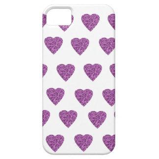 Herz Glitzer pink rosa iPhone 5 Hülle