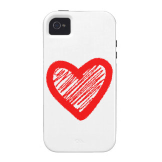 Herz heart Case-Mate iPhone 4 cover